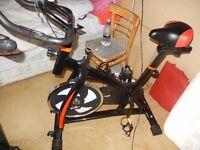 18 kg Spin bicycle, looks new, less than a year old