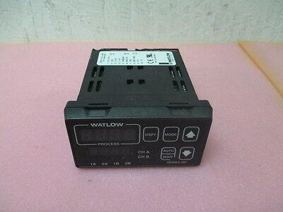 Watlow 997D-11CC-JURG Dual Channel Digital Temperature Controller Display,398238