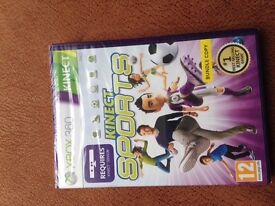 Xbox 360 Kinect Sports Brand New in Sealed Packaging
