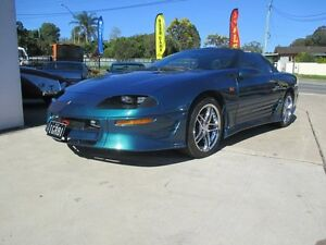1996 Chevrolet Camaro Z28 Mystic Teal 4 Speed Automatic + O/Drive Targa Birkdale Redland Area Preview