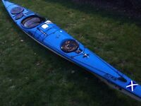 P&H Quest composite sea kayak