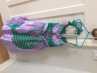 Disney Princess Ariel dressing up outfit - 6-8 years old