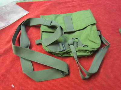 Messenger Bag Gas Mask Carrier Satchel Utility Pouch Pack Case US Military Army