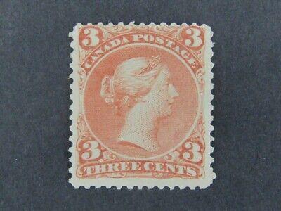 Nystamps Canada Stamp # 25ii Mint OG H VF UN$2500 u25xm