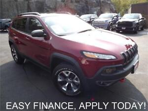2016 Jeep Cherokee Trailhawk AWD! NAV! BACKUP CAM! PANO ROOF!
