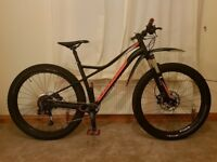 Specialized Ruze 2017 Hard Tail Mountain Bike with Upgraded Components - Nearly Brand New Condition!