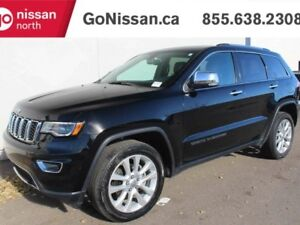 2017 Jeep Grand Cherokee LIMITED, 4X4, PANO ROOF, LEATHER, HEATE