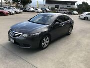 2012 Honda Accord 10 MY12 Euro Black & Grey 5 Speed Automatic Sedan Coopers Plains Brisbane South West Preview