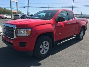 2016 GMC Canyon 2WD ACCESSCAB 2.5L + COMME NEUF!