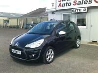 2012 CITROEN C3 1.4L BLACK ONLY 26,205 MILES, FULL SERVICE HISTORY,IDEAL 1ST CAR
