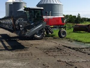 2013 Massey WR9740 36ft Swather