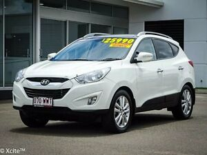 2012 Hyundai ix35 VE MY09.5 Highlander AWD Vanilla White 6 Speed Sports Automatic Wagon Garbutt Townsville City Preview