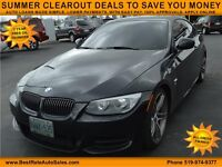 2011 BMW 3-Series 335i Coupe, $115/Weekly Payments, DRIVE TODAY!