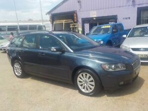 2006 Volvo V50 MY06 2.4 S Blue 5 Speed Auto Geartronic Wagon North St Marys Penrith Area Preview