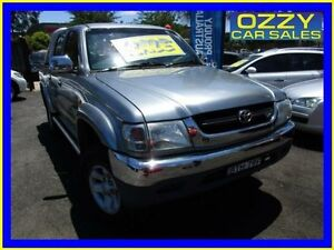 2004 Toyota Hilux VZN167R SR5 (4x4) Grey 4 Speed Automatic Dual Cab Pick-up Minto Campbelltown Area Preview