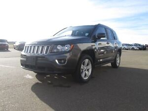 2016 JEEP COMPASS SPORT 4X4 SPORT UTILITY, 4X4,  Leather Trimme