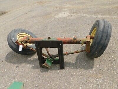 Spieco Tractor Wide Front End W Tires Rims Tag 447