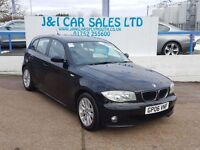 BMW 1 SERIES 2.0 118D SE 5d 121 BHP PRICED TO SELL (black) 2006