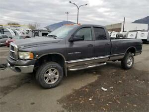 2004 DODGE RAM 3500 SLT 4X4 QUAD CAB LONG BOD 5.9 CUMMINS DIESEL