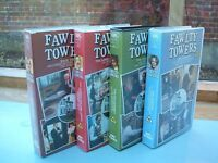 VHS Video Set of 4 Fawlty Towers Complete Series 1 and 2