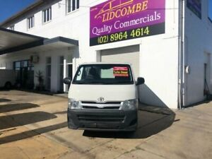 2011 Toyota HiAce KDH201R MY11 Upgrade LWB White 4 Speed Automatic Van Lidcombe Auburn Area Preview
