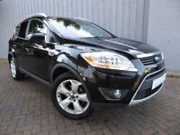 Ford Kuga 2.0 Titanium TDCI 4x4, Metallic Black, Huge Specification with Excellent Service History