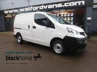2013 Nissan NV200 1.5DCi 89ps SE E/Pack Diesel white Manual