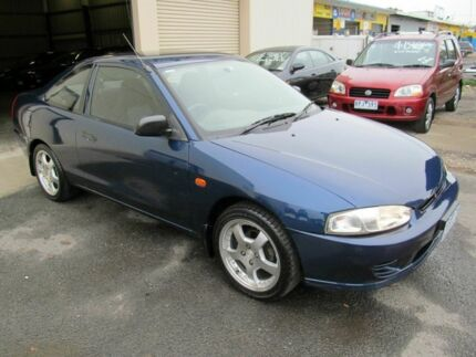 1999 Mitsubishi Lancer CE GLI Blue 4 Speed Automatic Coupe Werribee Wyndham Area Preview