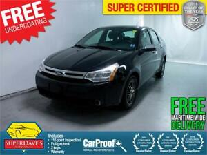 2011 Ford Focus SE *Warranty* $125 Bi-Weekly OAC