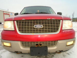 2003 Ford Expedition EDDIE BAUER-HEATED LEATHER-DVD-HDTV