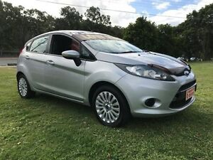 2011 Ford Fiesta WT LX Silver 5 Speed Manual Hatchback Clontarf Redcliffe Area Preview