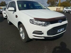 2013 Ford Territory SZ TX (RWD) White 6 Speed Automatic Wagon Delacombe Ballarat City Preview