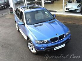 BMW X5 3.0 D SPORT 5d AUTO 215 BHP WATCH FULL HD VIDEO OF (blue) 2005
