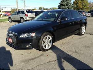 2009 Audi A4 2.0T Quattro|NAV|CAM|SUNROOF|LEATHER|NO ACCIDENTS