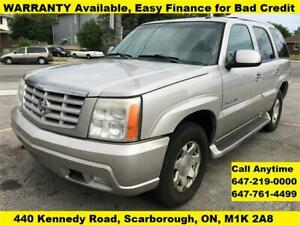 2005 Cadillac Escalade FINANCE WARRANTY AVAILABLE 7-PASSENGER