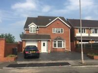 B.C.H-Modern 5 Bed Executive Detached House-WEST BROMWICH, Bird End-5 Mins Walk To Sandwell Hospital