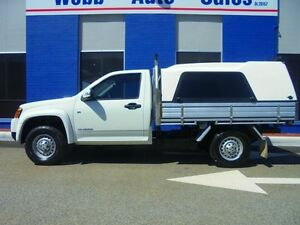 2010 Holden Colorado RC MY10 LX White 5 Speed Manual Cab Chassis Welshpool Canning Area Preview