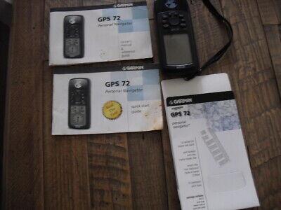 Garmin GPS 72 Handheld Navigation Hiking Biking Fishing Hunting Personal Marine
