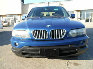 2003 BMW X5-4.4L; No Accident; CERTIFIED