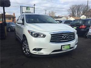 2013 Infiniti JX35 LOADED 7 SEATER-SUNROOF-BACK UP CAMERA