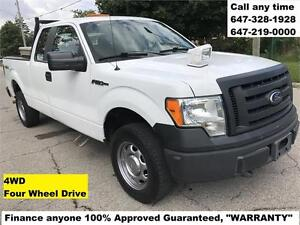 2010 Ford F-150 XL 4WD FINANCE 100% APPROVED WARRANTY 6472190000