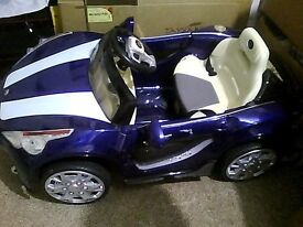 Kids battery operated car for spares and repair