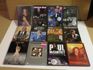 32 DVD SPECTACLE MUSICALE