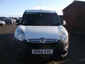 Vauxhall Combo 1.3 CDTI 90BHP VAN. DIESEL MANUAL WHITE (2014)