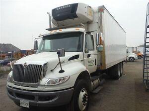 2014 International 4400 6x4, Used Reefer Van