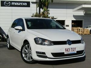 2013 Volkswagen Golf VII 110TDI DSG Highline White 6 Speed Sports Automatic Dual Clutch Hatchback Maroochydore Maroochydore Area Preview