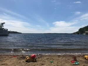 MUSKOKA Cottage for Rent, sand beach, 3 BR/1BA