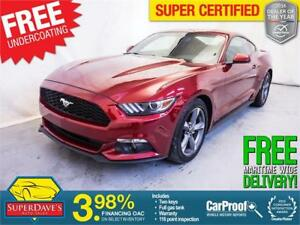 2017 Ford Mustang V6 *Warranty* $173.36 Bi-Weekly OAC