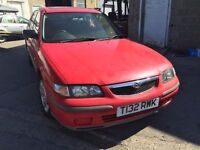 Mazda 626, starts and drives, MOT until 17th December, car located in Gravesend Kent, any questions