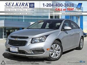 2015 CRUZE I 1LT I MANUAL TRANSMISSION I REAR VISION CAMERA I